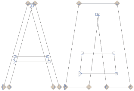 Variable Font Width Axis VectorLimits