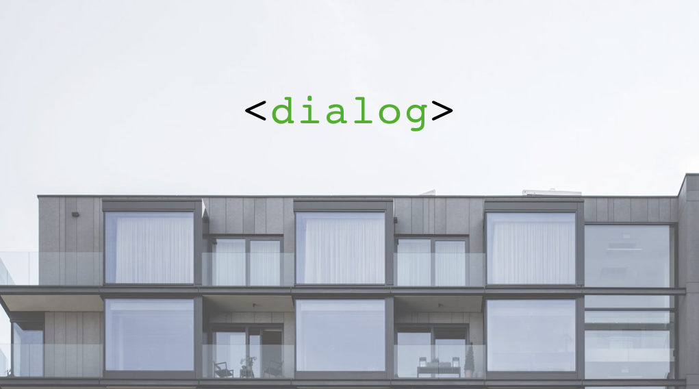 Using The Dialog Element For Modal Windows