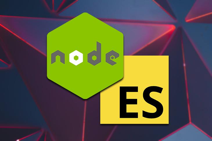 using ES modules ESM in node