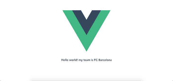 Using Scoped Slots To Render Vue Logo