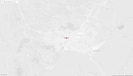 mapbox react gl map display