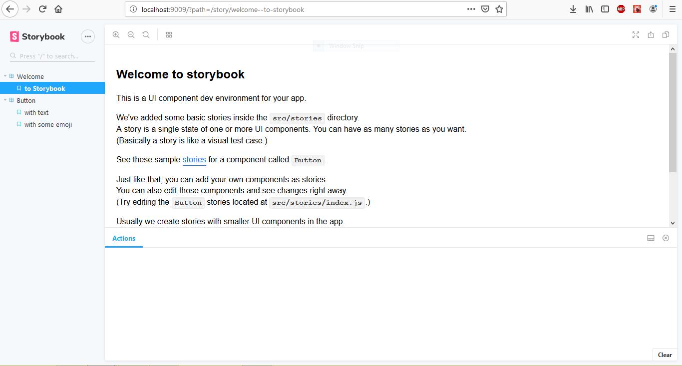 storybook ui