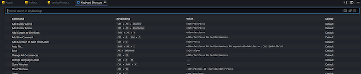 Setting The Show Hover Shortcut