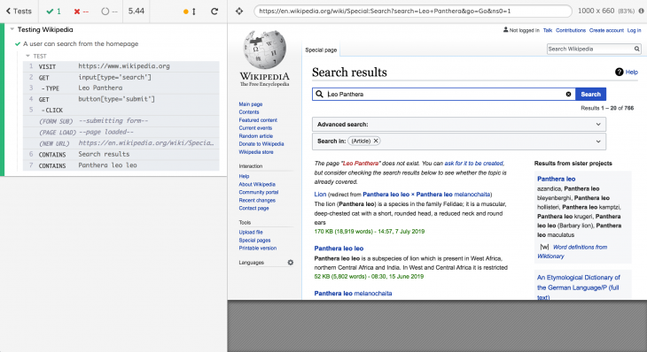 Testing WIkipedia Cyprus Window