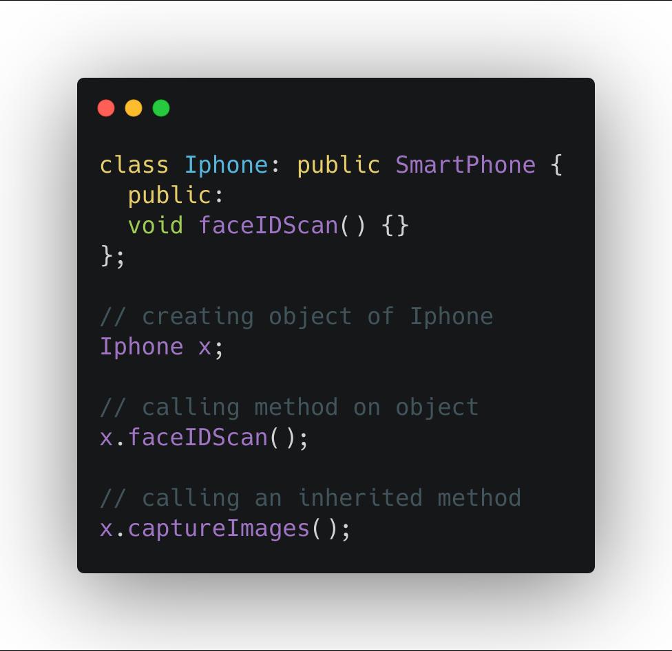 inherit capturePictures method from SmartPhone class