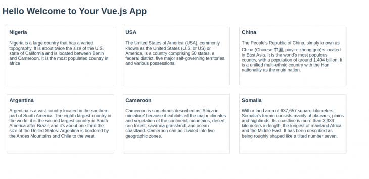 vue.js test app