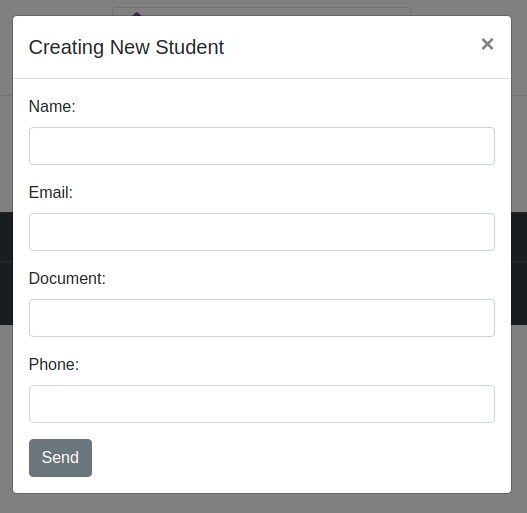 create new student