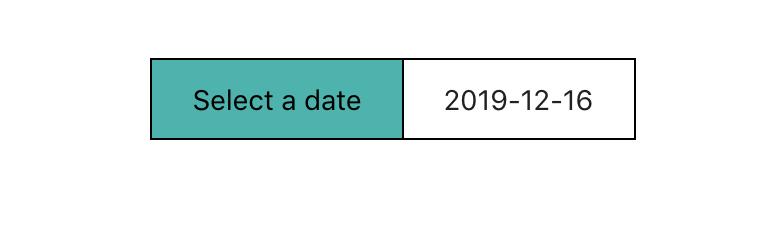 date picker button