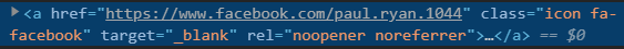 Script From Paul Ryan Codes Website Lacks Link Descriptions