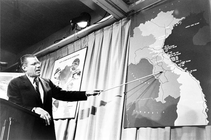 U.S. Secretary Of Defense Robert McNamara