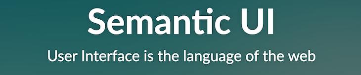 Semantic UI banner