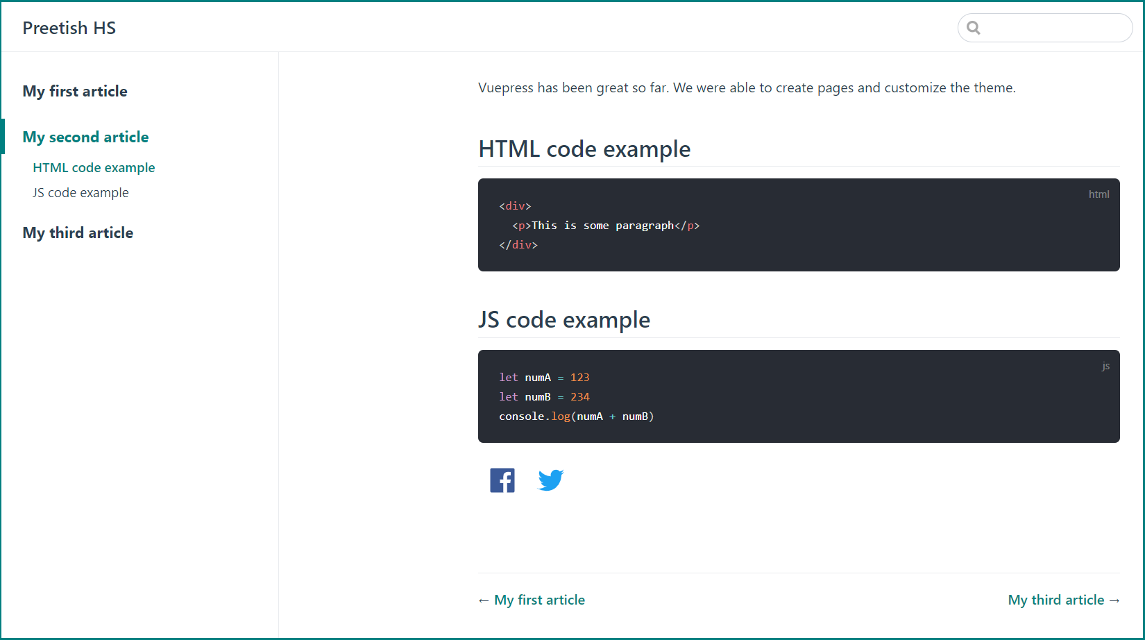 Customizing the Article Page With CSS