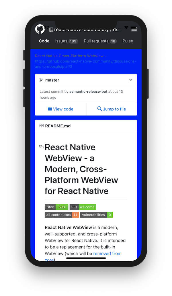 React Native WebView injectJavaScript Method In Action