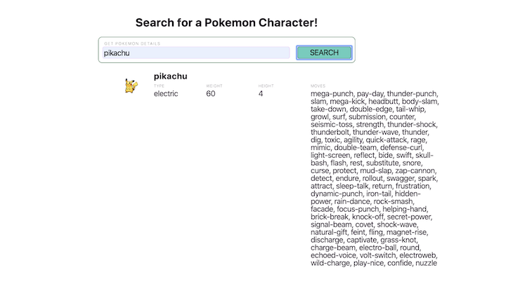 JAMstack App Search Results