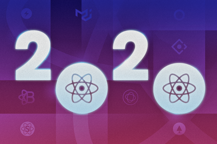 An image of the top React libraries in 2020.