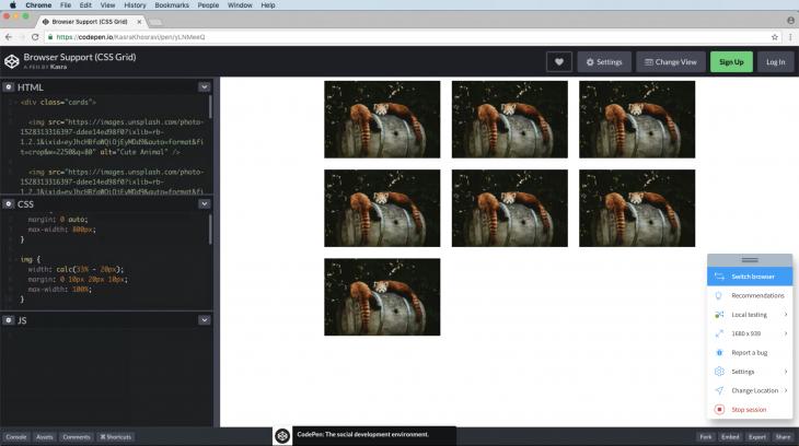 Legacy Browser Fallba (Chrome v56 on Mac Mojave OS)