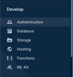 authentication tab