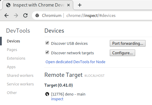 Inspect With Chrome