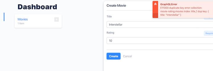 GraphQL Error in Keystone.js Movie Rating App
