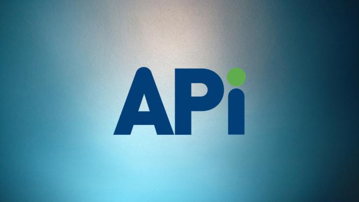 API logo.