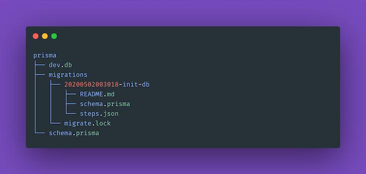 Prisma Directory Structure