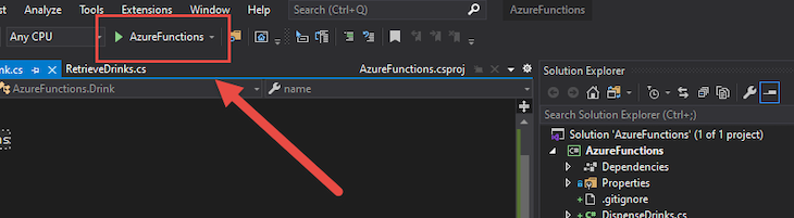 Accessing Azure Functions Locally