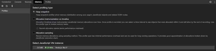Chrome's Dedicated Dev Tools For Node