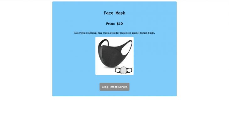 Face mask site