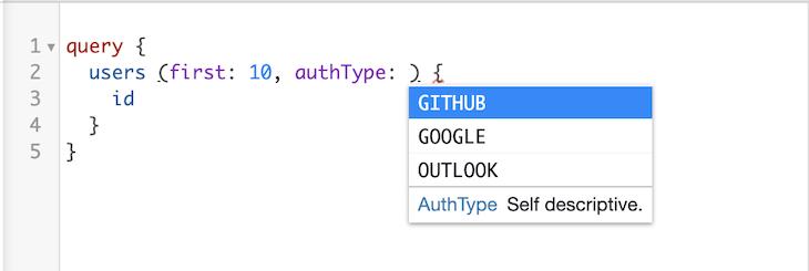GraphQL Enums TypeScript Types Generation