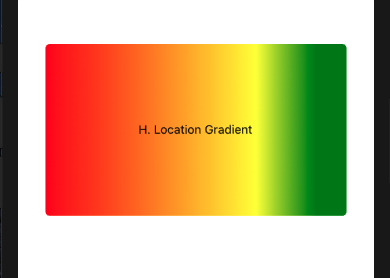 h. location gradient
