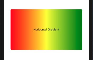 horizontal gradient