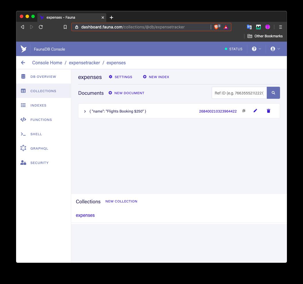 updated database dashboard