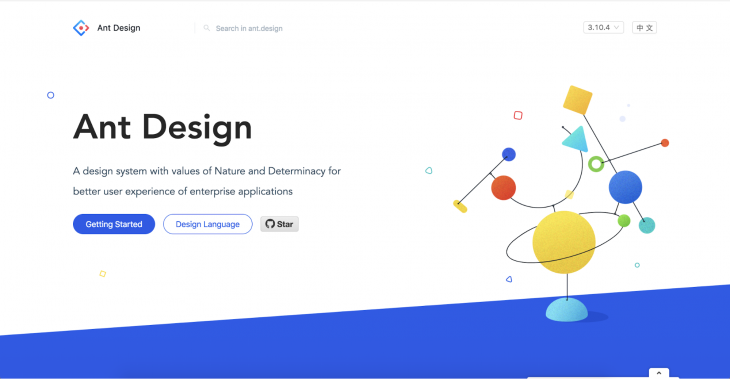 Ant Design Homepage