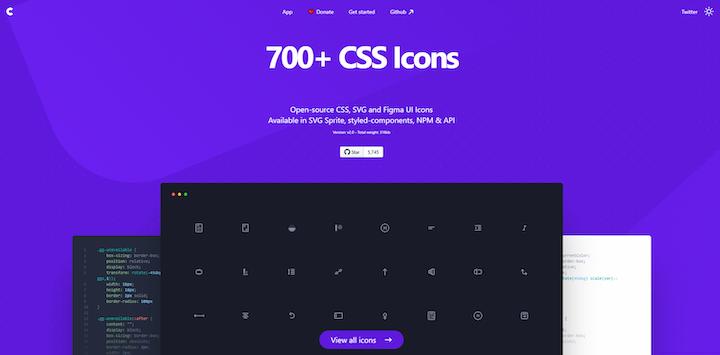 css.gg Homepage