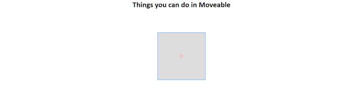 Movable With Draggable