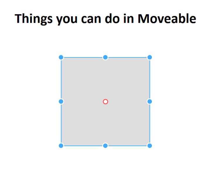 Movable With Resizable