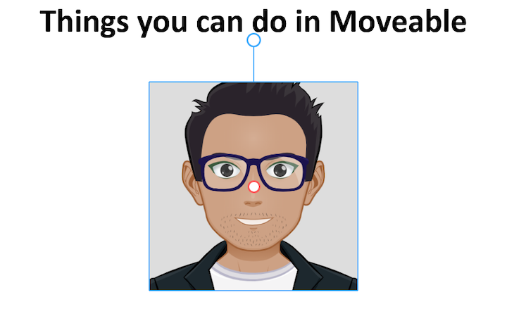 Moveable With Rotatable