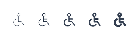 Tabler Icons Stroke and Width Properties