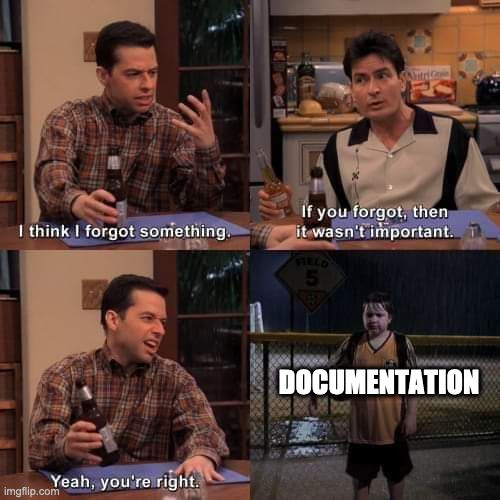 Documentation Meme