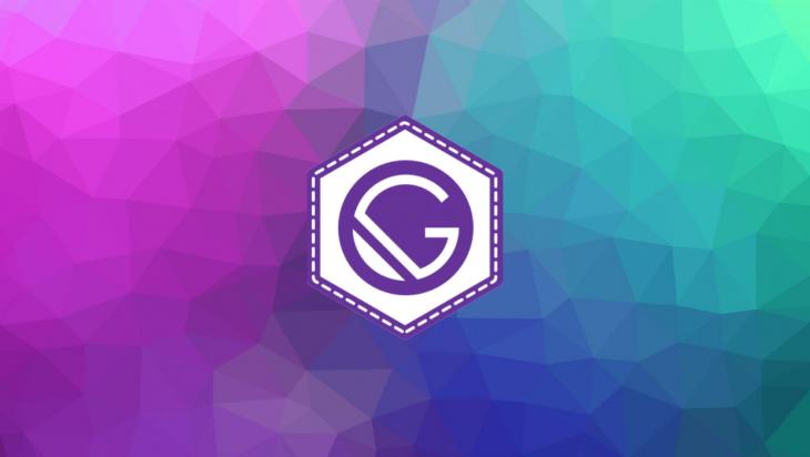 Gatsby logo.