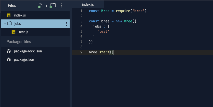 The file for Bree.js jobs.