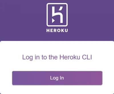Heroku CLI Login