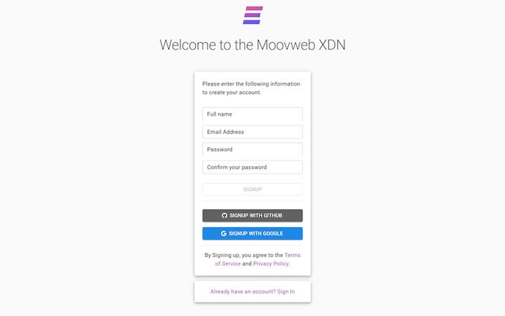 Moovweb XDN