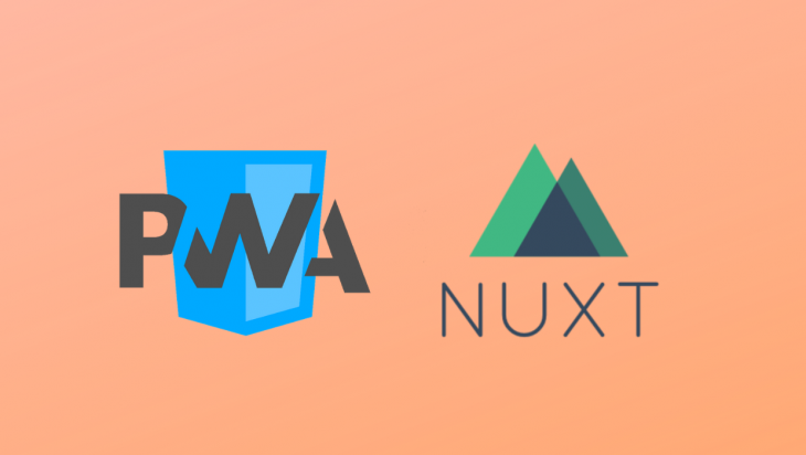 Nuxt and PWA logos.
