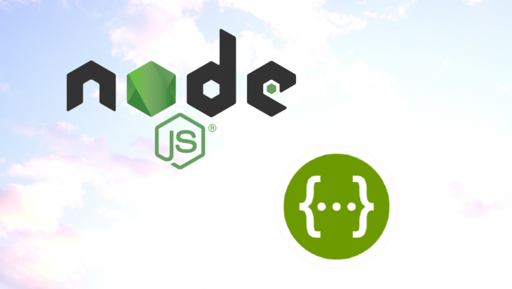 The Node and Swagger logos.