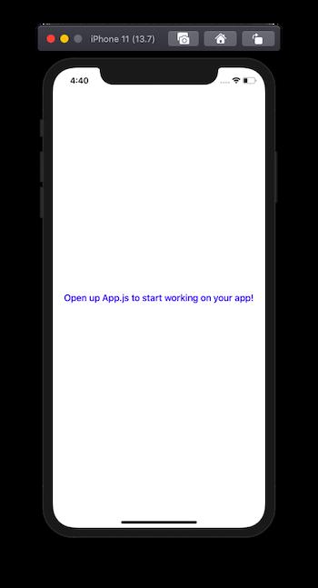 expo client app emulator