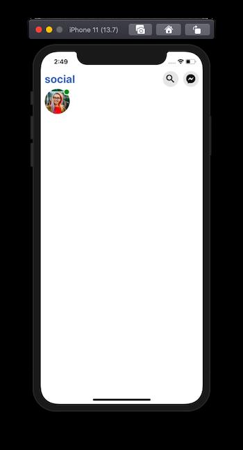online indicator on avatar