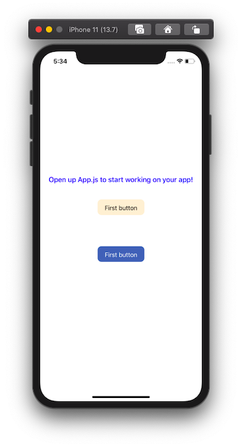 open up app js