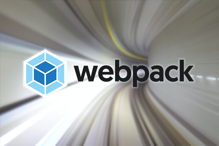 The Webpack logo against a white background;