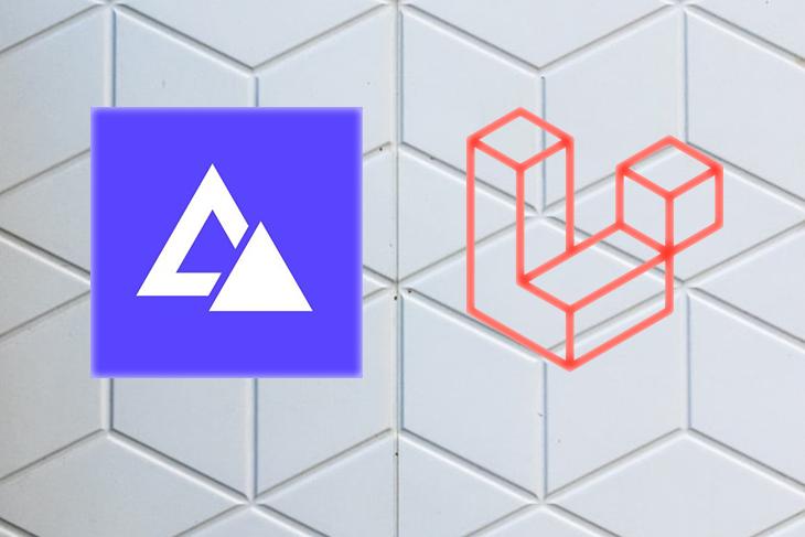 Adonis and Laravel logos.